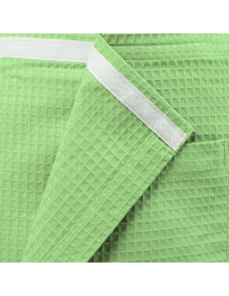 Kilt do sauny univerzálny 100 % bavlna Svetlo zelený